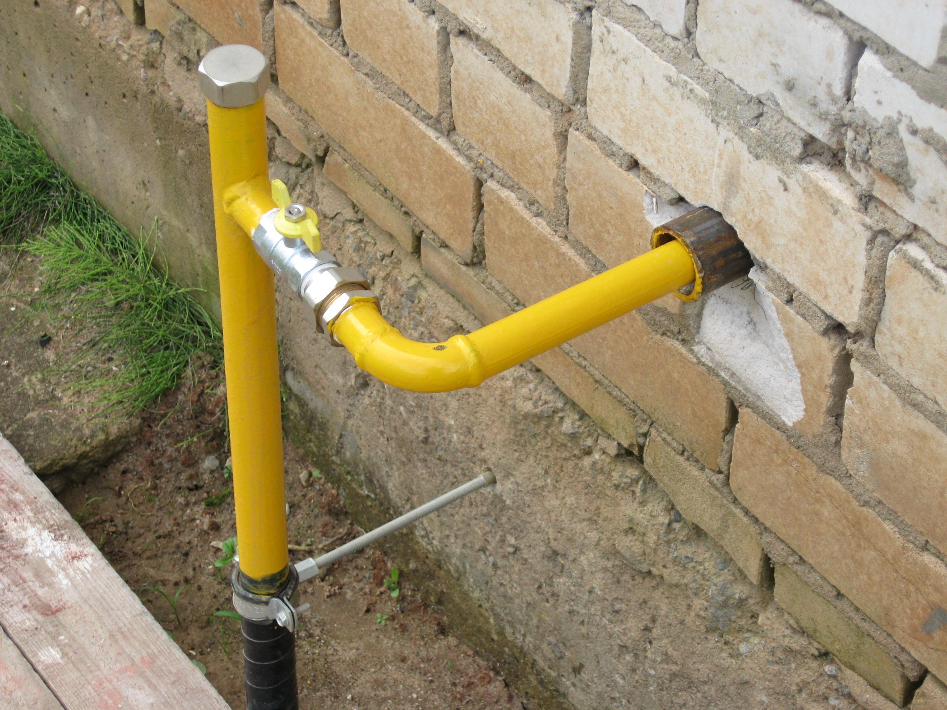 Как сделать газопровод на даче