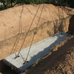 Монтаж фундаментной плиты